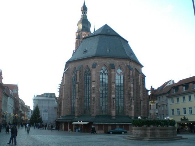 Heiliggeist-Kirche in Heidelberg