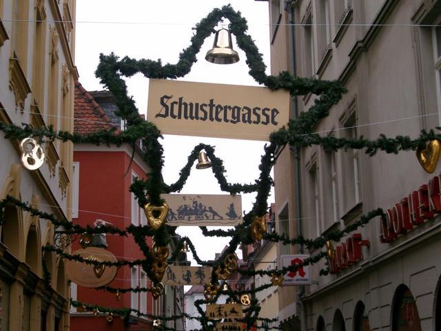 Schustergasse in Würzburg
