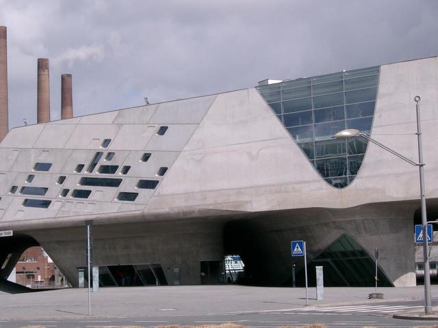 Das Phaeno in Wolfsburg