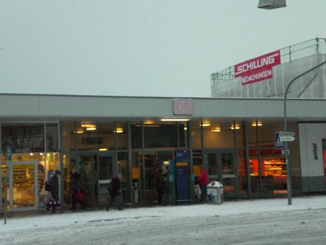 Der Weinheimer Bahnhof