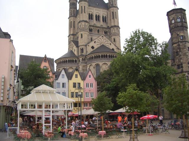 Kirche Groß St. Martin in Köln