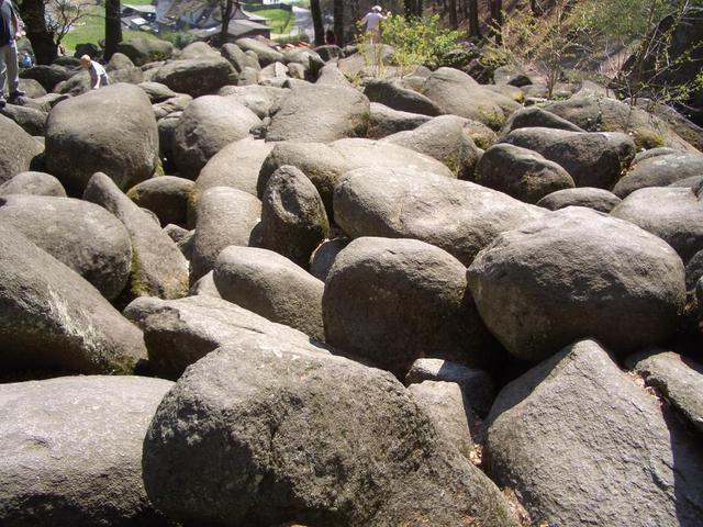 imposanter Steinhaufen
