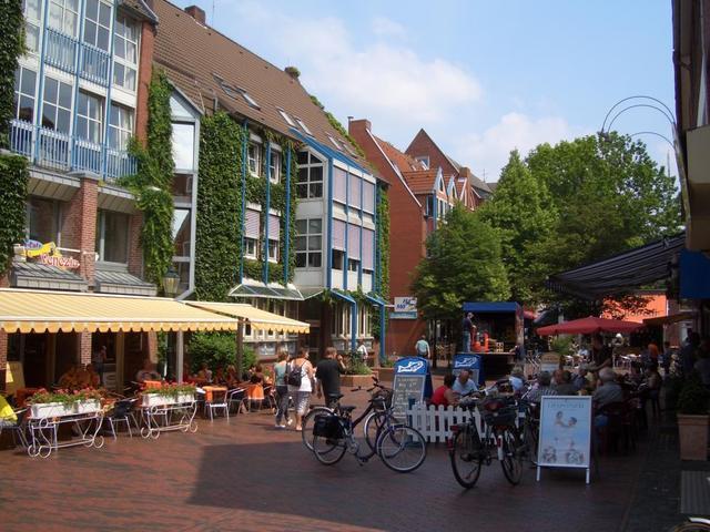 Fußgängerzone in Emden