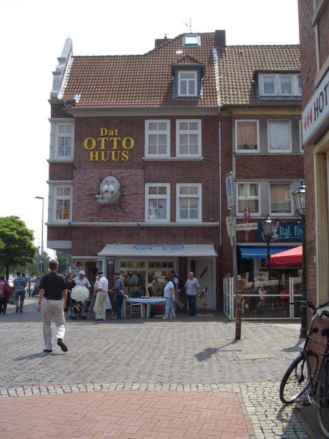 Das Otto Huus mit Shop