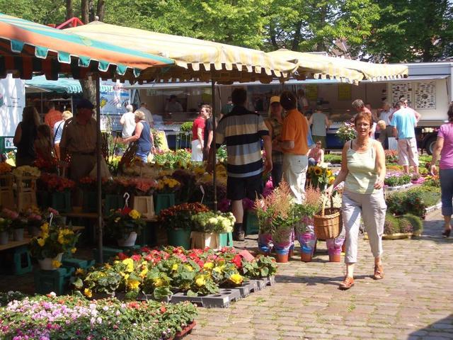 erlebnisreicher Wochenmarkt auf dem Norder Marktplatz
