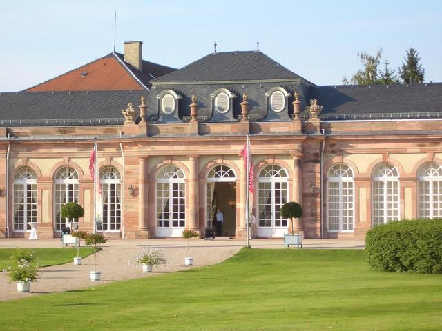 Seitenflügel des Schwetzinger Schlosses