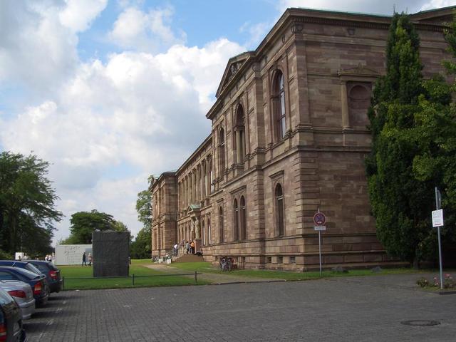 Schloss Wilhelmshöhe, Gartenfront