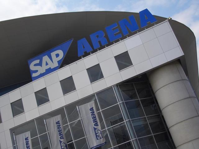 Detail der SAP-Arena