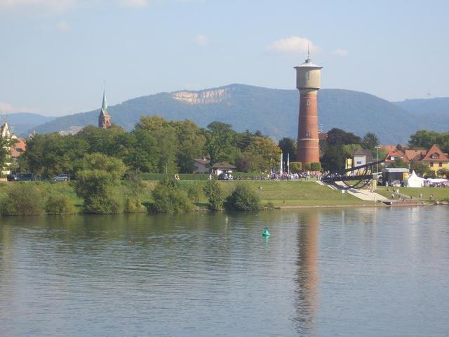 der Ladenburger Wasserturm