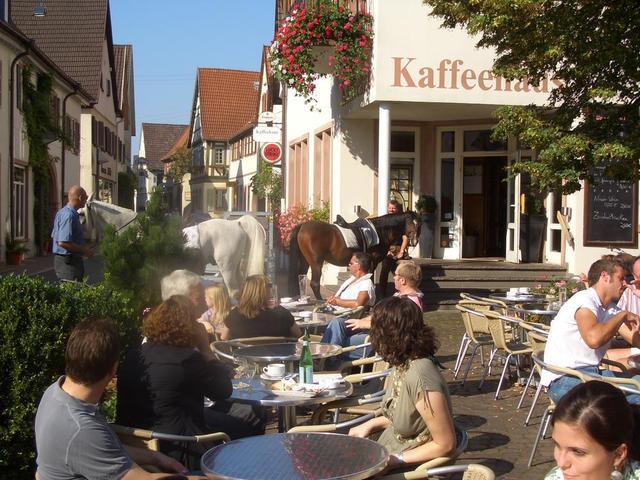 das Kaffeehaus in Schriesheim