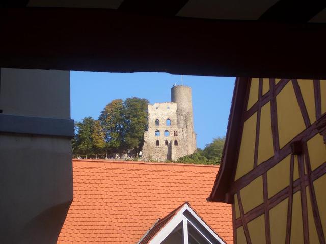 die Strahlenburg über Schriesheim