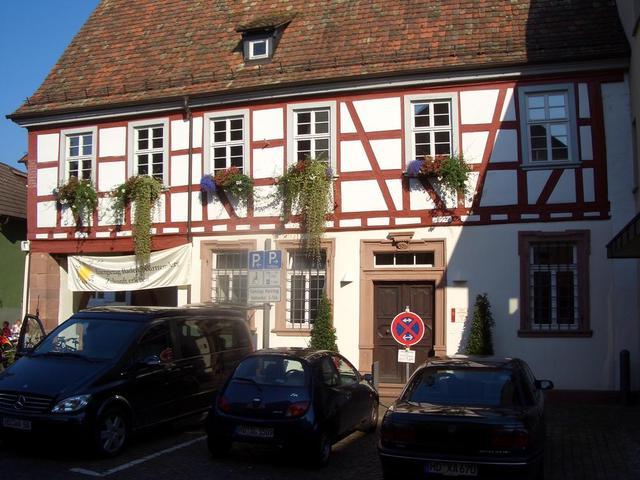 Fachwerkhaus in Schriesheim