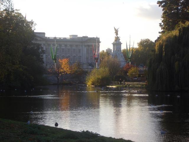 Hyde Park mit Blick auf Buckingham Palace