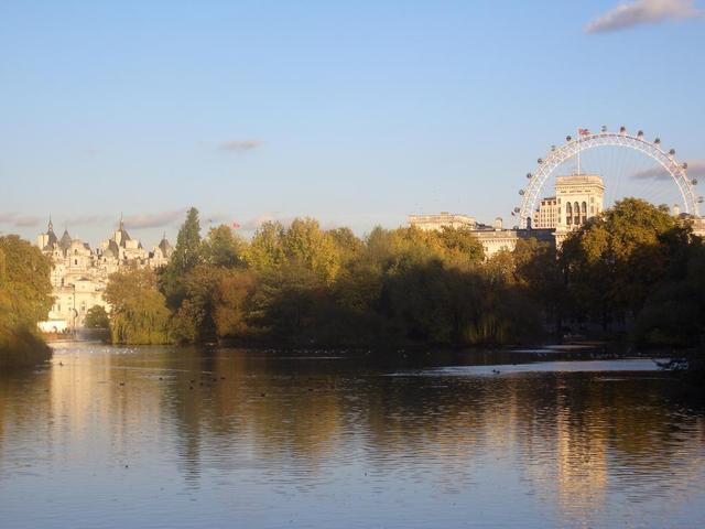 Hyde Park mit Blick auf London Eye