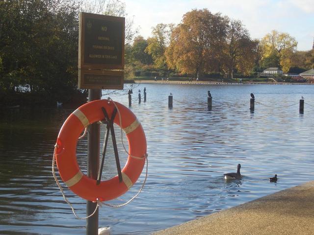 einer der Seen im Hyde Park