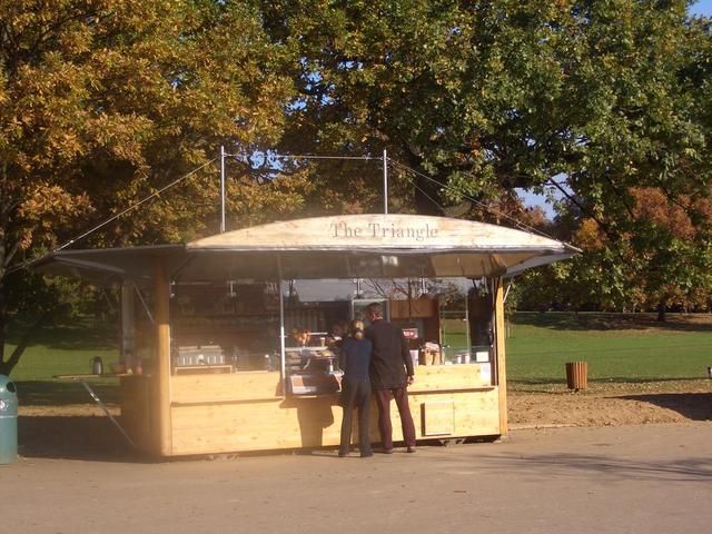 Kiosk im Hyde Park