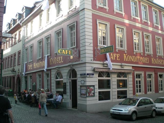Das Café Knösel in Heidelberg