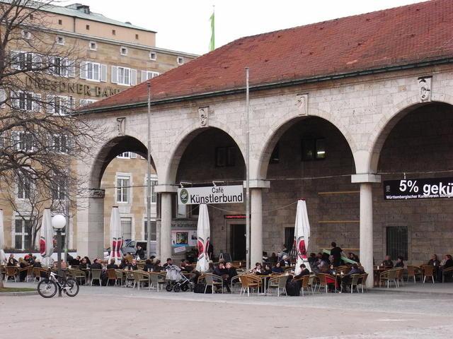 Das Café im Künstlerbund Stuttgart