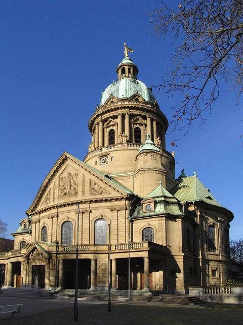 Christuskirche in Mannheim