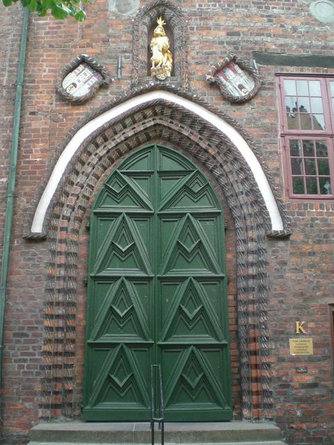 Besuchereingang am Rathaus Lüneburg