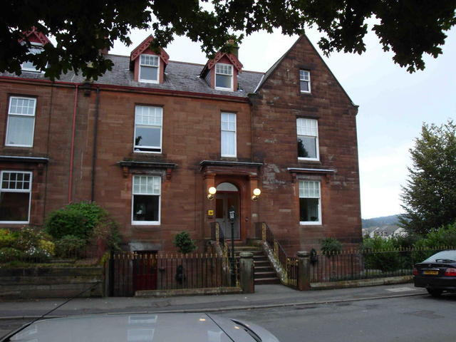the Gillbank Guest House in Thornhill/Dumfriesshire