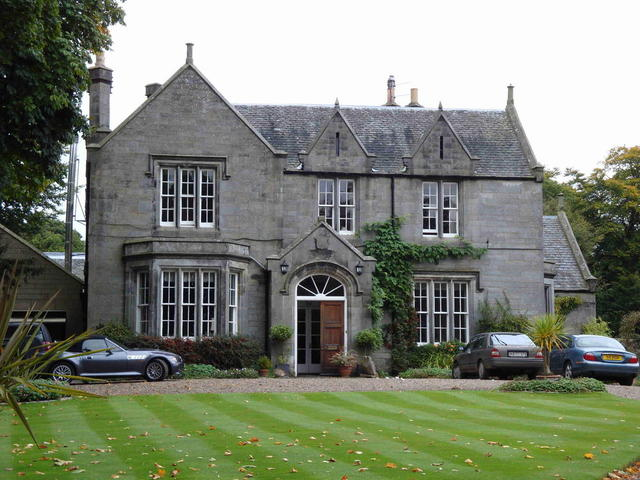 the Kirklands House in Saline/Fife