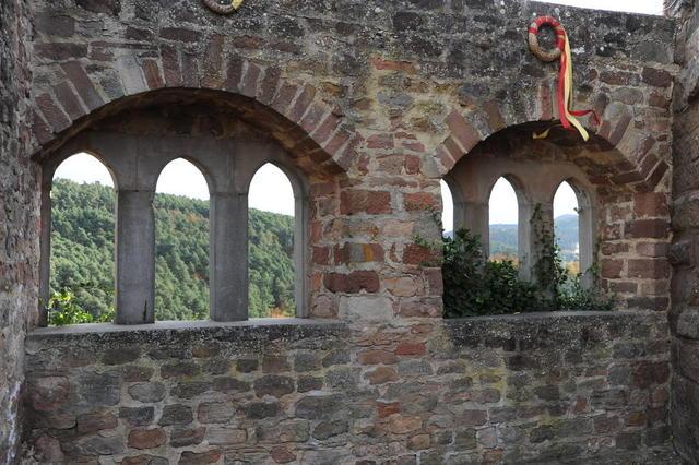 Fenster von Burg Altleiningen