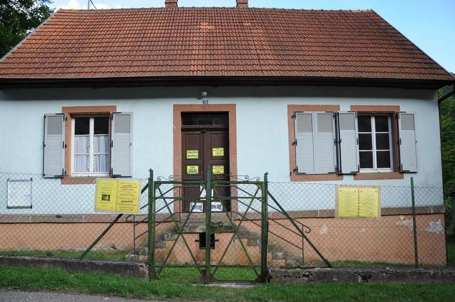 Die alte Schule in Wengelsbach