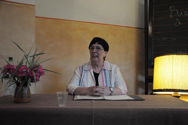 Elisabeth Kühhirt-Hildebrandt beim Wengelsbacher Kultursommer