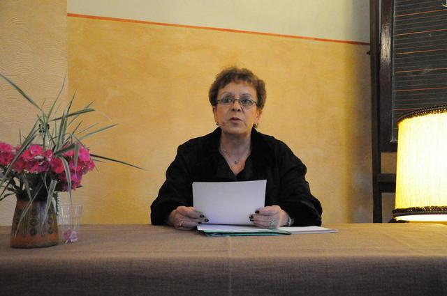Christiane Daubermann beim Wengelsbacher Kultursommer