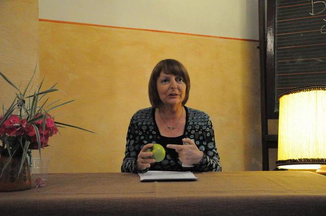 Petra Scheuermann liest beim Wengelsbacher Kultursommer 2010