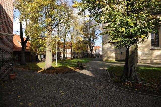 Der Johannikirchplatz in Billerbeck