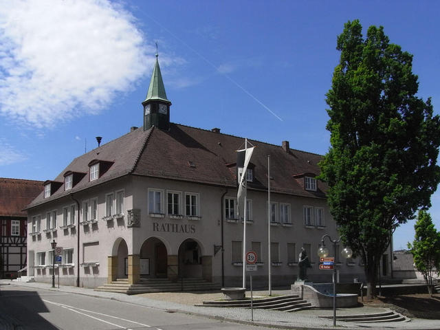 Knittlingens Rathaus