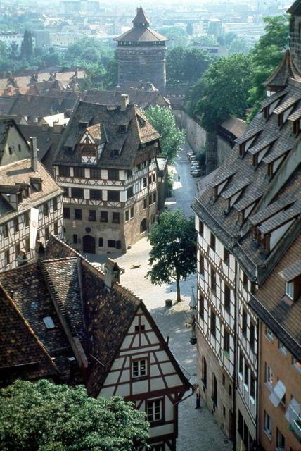 Das Dürer-Haus in Nürnberg