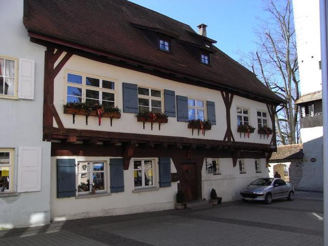 Das alte Pfarrhaus in Isny