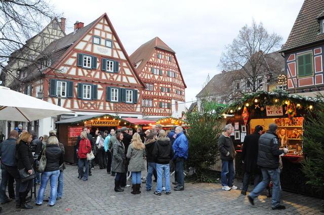 Der Weihnachtsmarkt in Ladenburg