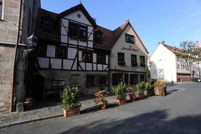 """Das historische Restaurant """"Zum Gulden Stern"""" in Nürnberg"""