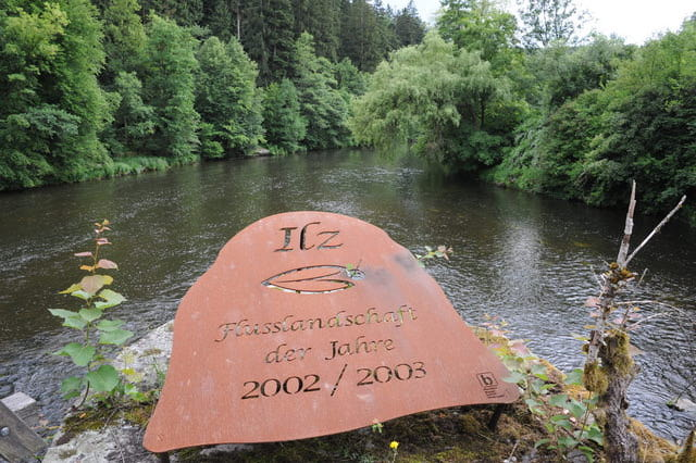 """Der Fluss Ilz - die """"schwarze Perle"""""""