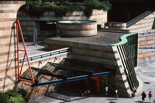 Der Eingang zur Staatsgalerie Stuttgart