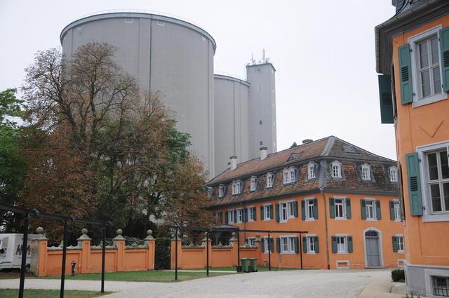 Die Eremitage in Waghäusel auf dem ehemaligen Gelände der Zuckerfabrik