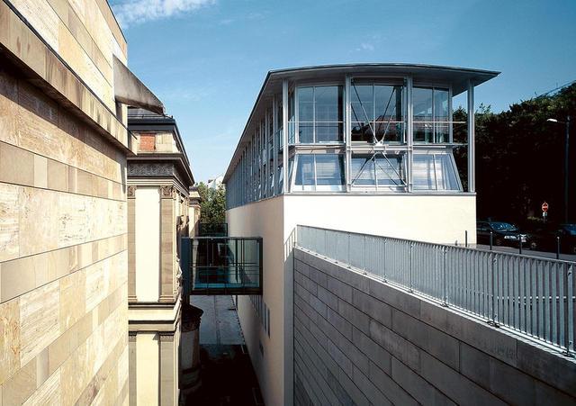 Der Erweiterungsbau der Alten Staatsgalerie Stuttgart