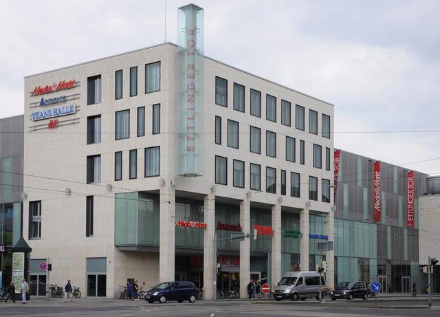 Einkaufzentrum Ettlinger Tor Reisef Hrer Karlsruhe