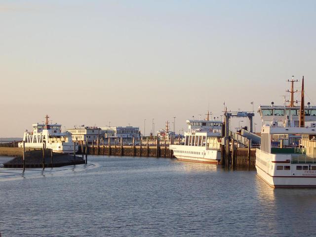 Fährhafen in Norddeich