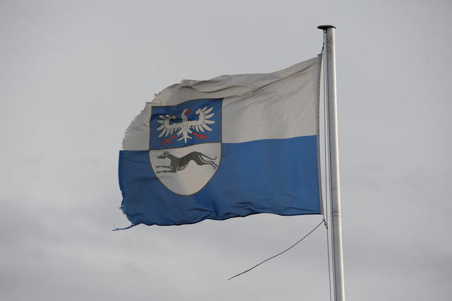 Flagge Burg Battenberg