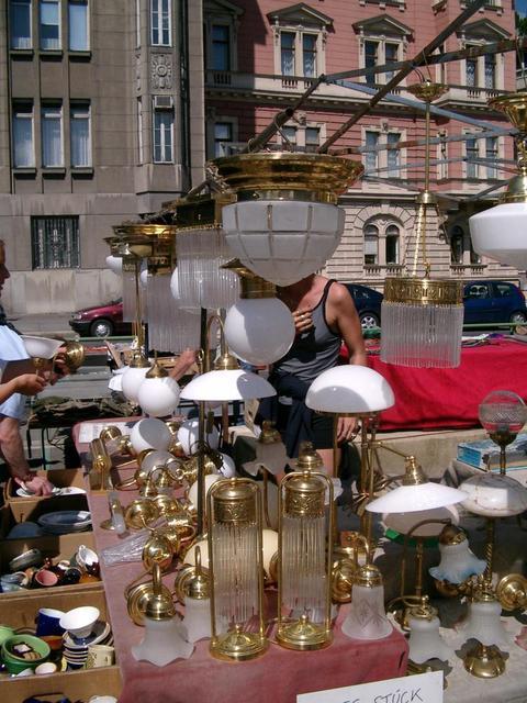 Der Flohmarkt am Wiener Naschmarkt