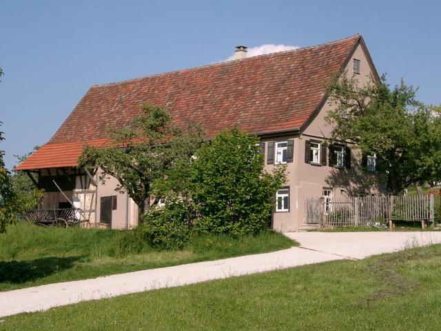 Haus im Freilichtmuseum Beuren