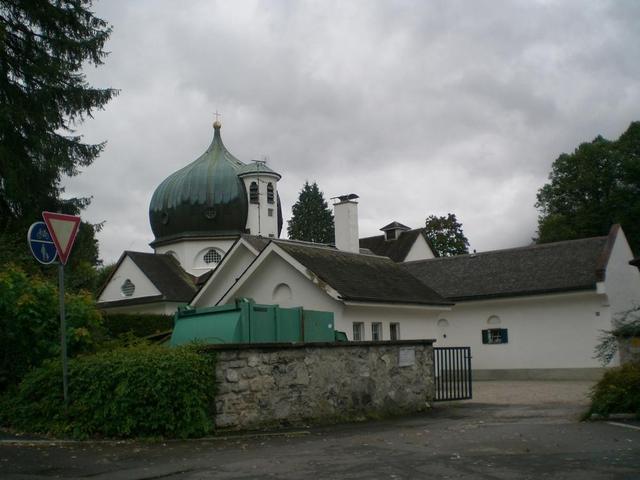 Der Friedhof in Garmisch-Partenkirchen