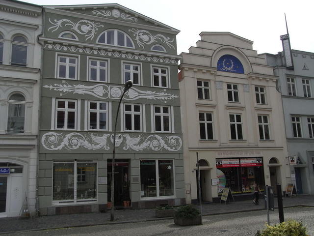 Die Fußgängerzone in Güstrow