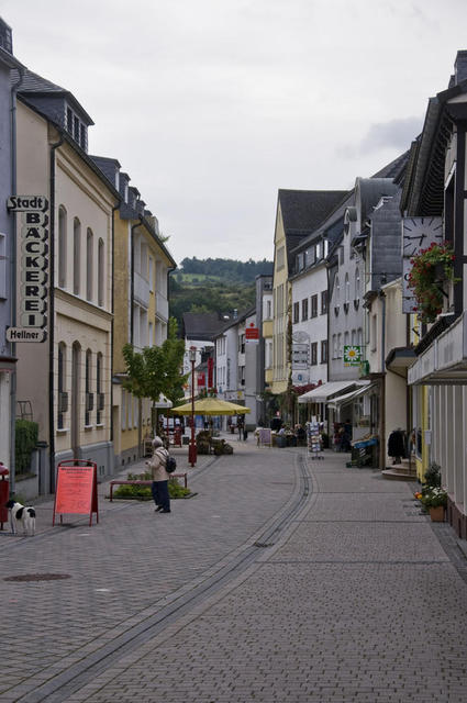 Fußgängerzone in Gemünd