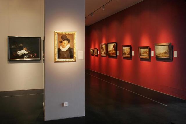 Blick in die Gemäldegalerie